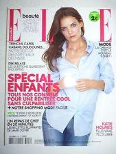 Magazine mode fashion ELLE French #3426 26 aout 2011 Katie Holmes