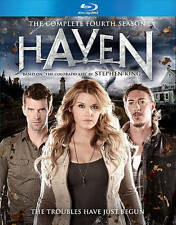 DVD: Haven: Complete Fourth Season [Blu-ray], Various. New Cond.: Emily Rose, Lu