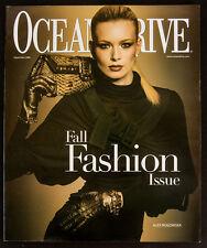 ALEX ROGOWSKA COVER Ocean Drive Magazine September 2006! Fall Fashion Issue!