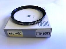 HOYA 48mm to 46mm Metal Step Down Ring 48mm Lens & 46mm filter
