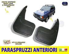 Paraspruzzi Panda 4x4 Fiat Sisley Anteriori Para Spruzzi Fango 1986>2003 set kit