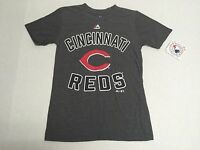 Cincinnati Reds Official MLB Majestic Apparel Kids Youth Size T-Shirt New Tags