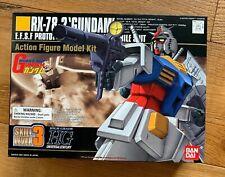 HG 1/144 Gundam Universal Century RX-78-2 GUNDAM Bandai 2001 MODEL KIT 001