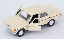 BLITZ VERSAND Mercedes E-Class 230 E creme Welly Modell Auto 1:34 NEU & OVP