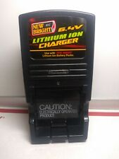 New Bright R/C  6.4V Green Lithium-Ion Battery Charger