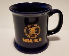 NRA-ILA National Rifle Association Deep Blue Coffee Cup Tea Mug M Ware