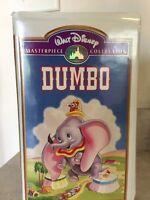 *Rare* Walt Disney's Masterpiece Collection Dumbo VHS Tape