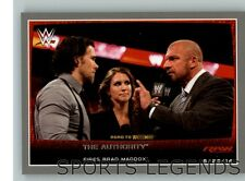 2016 Topps WWE Road to Wrestlemania silver #19 The Authority Triple H