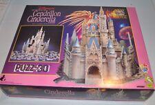 CINDERELLA CASTLE Disney Puzzle PUZZ-3D (complete, sealed pieces) Wrebbit - rj