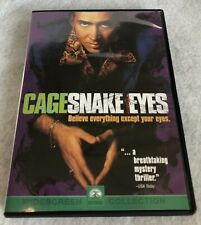 Cage Snake Eyes Nicolas Cage Dvd Movie Pre Owned
