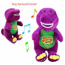 12''Barney The Purple Dinosaur Sing I LOVE YOU Song  Soft Plush Doll Toy Gift