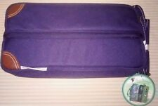 Picnic at Ascot Canvas Wine Carrier Insulated Tote Carrier Travel Gift Navy New