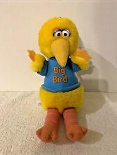 "ADORABLE BIG BIRD SESAME STREET 7.5"" PLUSH DOLL ~ C32"