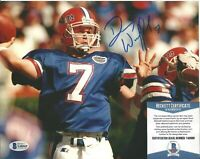 Danny Wuerffel Florida Gators Signed Auto 8x10 Photo Autograph Beckett BAS COA E