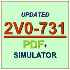 VMware Certified Professional 7 VCP-Cloud 2V0-731 Test Exam QA+Simulator