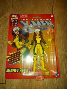 MARVEL LEGENDS RETRO X-MEN ROGUE FIGURE NEW SEALED
