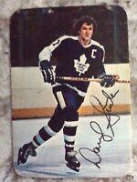 1977-78 OPC O-Pee-Chee Hockey Darryl Sittler #20 Maple Leafs Insert Subset NM/MT
