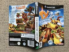 COVER INSERT ONLY Ty The Tasmanian Tiger 2 - GameCube Box Cover Art Only