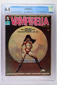 Vampirella #1 - Warren Publishing 1969 CGC 6.5 Origin & 1st App Vampirella!