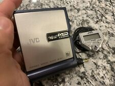 Jvc Xm-Pj1 Portable MiniDisc Player Md W/ Remote
