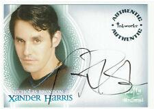 Buffy Vampire Slayer Men of Sunnydale Auto A1 Nicholas Brendon as Xander Harris