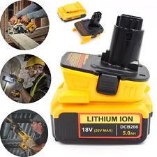 DCA1820 Adapter For Dewalt 20v 18V Li-ion Battery 2.1A Convert To 18v Tools