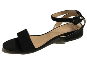 A New Day Womens Winona Style Black Slingback Open Toe Heeled Shoes Size 9