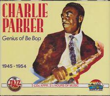 Charlie Parker Genius Of Be Bop 1945-1954 Giant Of Jazz 3 CD-Set