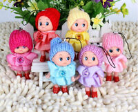 2X Lovely Ddung Confused Doll Girl Kids Toy Key Chain Phone Handbag Ornament、 EO