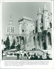 1997 Palace of the Popes in Avignon France Original News Service Photo
