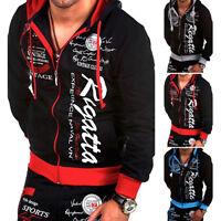 Fashion Men's Cool Zipper Hoodies Letter Sport B-box Man Sweatshirt Jackets Coat