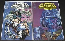 The Light and Darkness War 1 & 3 (1988-1989, Epic) 1st Print lot
