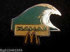 McDonalds Hawaii Hat Lapel Pin HP3430
