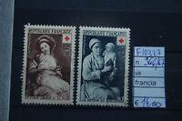 FRANCOBOLLI FRANCIA USATI N°966/67 (F10327)
