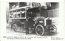 London Postcard - L.G.O.C. Bus B3502 on Route at Penge [A.K. Garage Plate]  F333