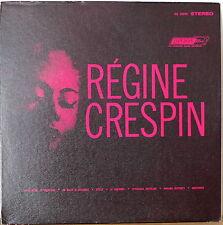 REGINE CRESPIN: Italian Operatic Arias-M1963LP UK PRESSING/US RELEASE w/TEXT