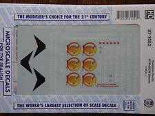 Microscale Decal HO  #87-1052 CP Diesel - AC4400CW - Beaver Logo