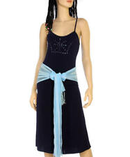 C66 Navy Blue Stretchy Yoga,Gaucho Pants Set JUNIOR(M)