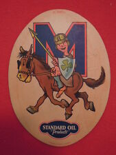 1930s Standard Oil Company of California St Marys College Cardboard Patch