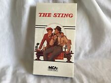 VHS - THE STING Paul Newman Robert Shaw (1989) (7 Academy Awards) ~NEW, SEALED~