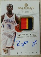 Reggie Jackson 2012 Immaculate Collection Rookie RC Auto Patch Card /100