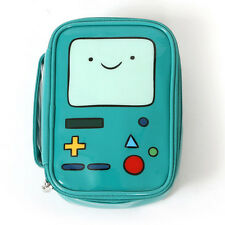 Adventure Time BMO Beemo Cosmetic Bag Makeup Brush Pencil Case Travel Organizer