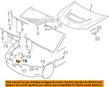 MITSUBISHI OEM 03-06 Lancer Hood-Lock Latch MN181407