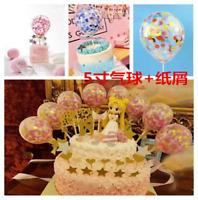 "20pcs 12"" Confetti Balloon Birthday Wedding Party Latex Helium Balloons"