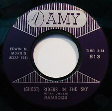 RAMRODS-(Ghost) Riders In THe Sky & Zig Zag-Instrumental Rock 45-AMY #813