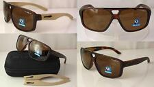 ARNETTE POLARIZED FAT CITY SUNGLASSES AN4189 -04 FUZZY HAVANA BROWN LENSES NEW