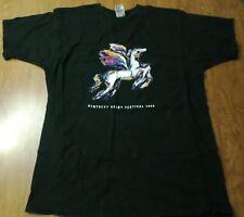 KENTUCKY DERBY tee Churchill Downs pegasus T shirt XL horse Charismatic 1999
