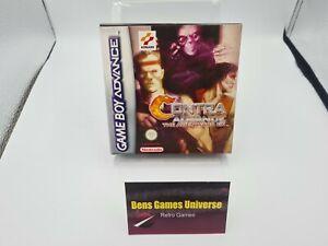 Nintendo Game Boy Advance Contra Advance Alien Wars Ex mit Ovp und Anleitung EUR