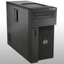 Station de Travail Dell Precision T1650 PC Quad Core Xeon 8 Go RAM 250 Go HDD Windows 7