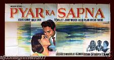 8-Sheet Pyar Ka Sapna {Mala Sinha} Hindi Original Movie Poster Billboard 1960s